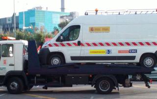 Asistencia de vehículos sobredimensionados