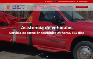 Nueva Web Gruas Martinez